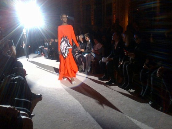 Tom Ford Orange dress